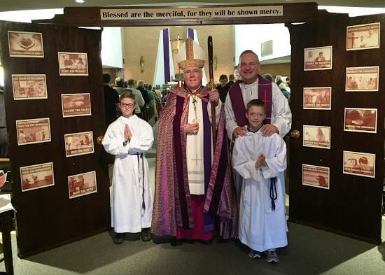 Healing Mass with Bishop Malone – Photos