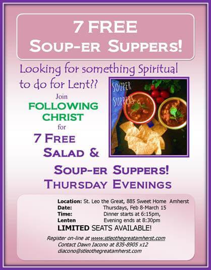 7 Free Lenten Soup-er Suppers