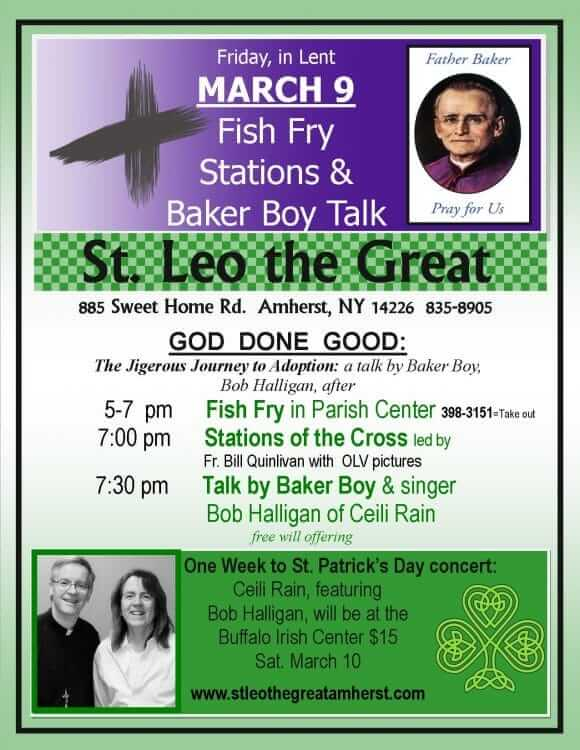 God Done Good: Lenten Fish Fry, Stations & Baker Boy Talk