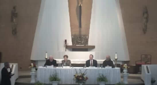"""""""Let's Talk About…"""" panel with discussion, was held Wednesday, June 20th at St. Leo the Great Church"""