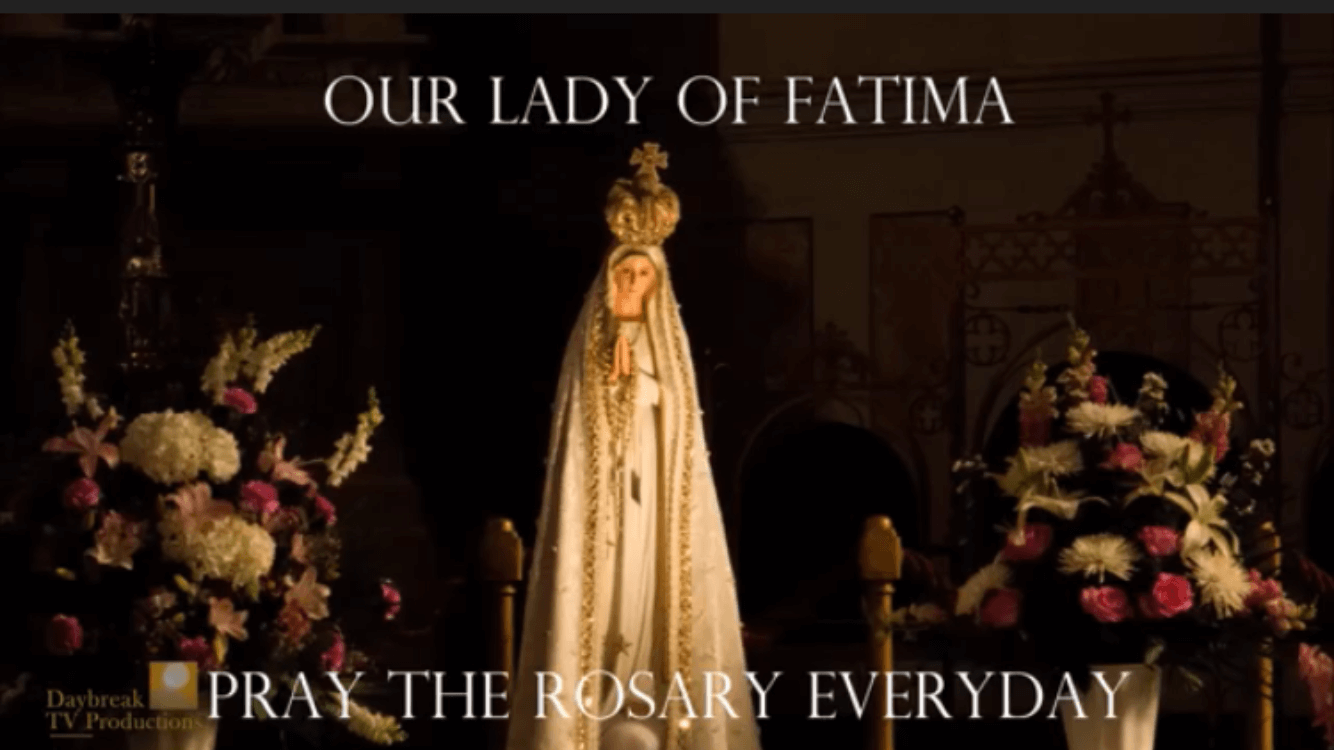 Venerate the National Pilgrim Statue of Our Lady of Fatima