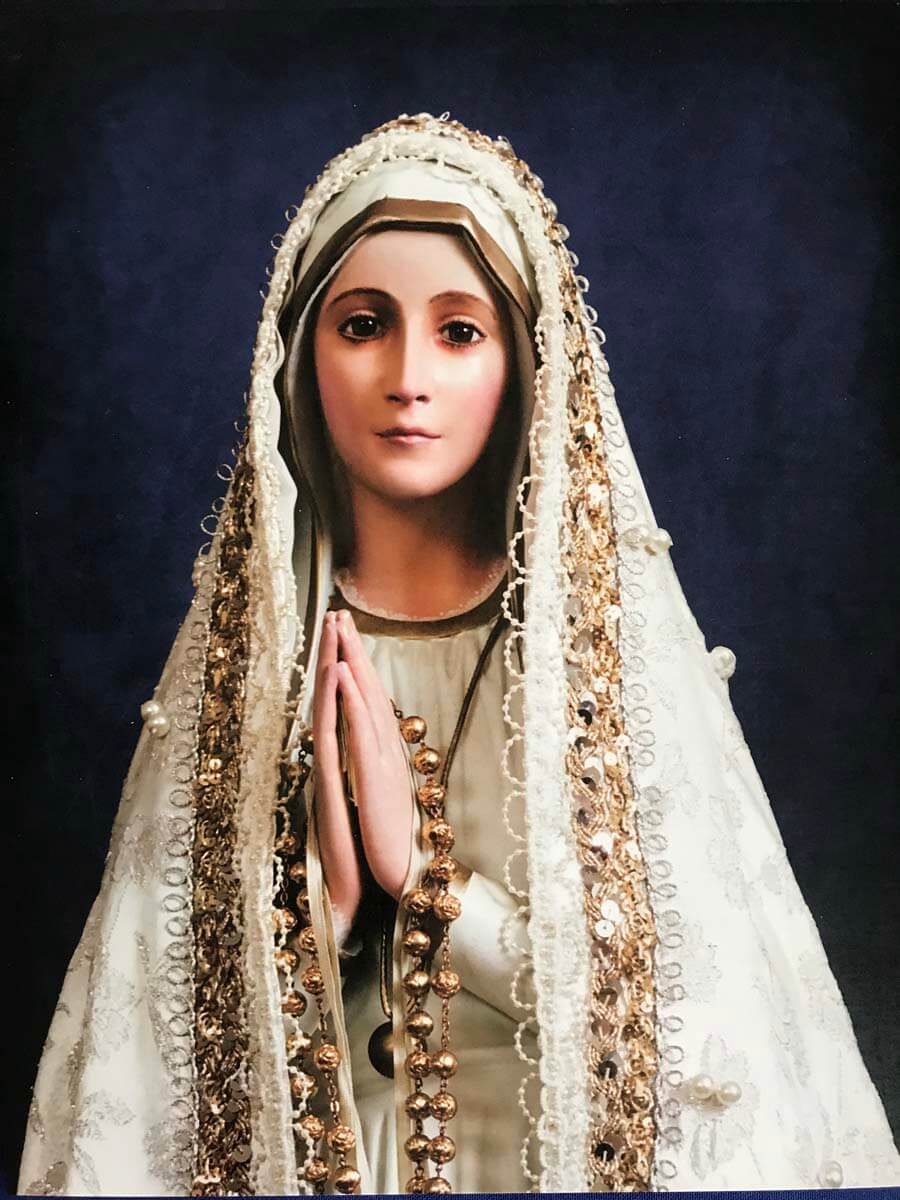 National Pilgrim Virgin Statue Of Our Lady Of Fatima Photos