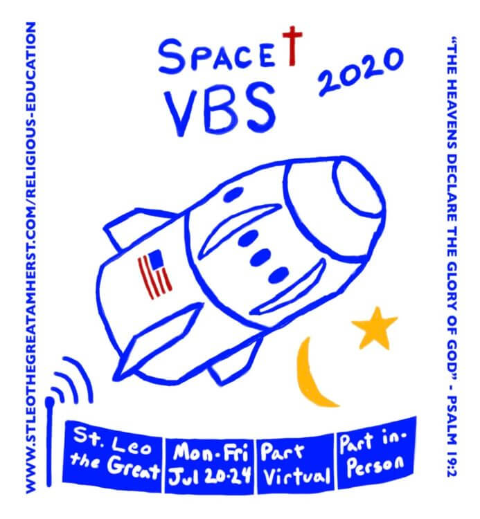 Space VBS - July 20-24, part virtual, part in-person
